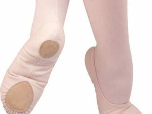 Angelo Luzio Canvas Ballet Shoe
